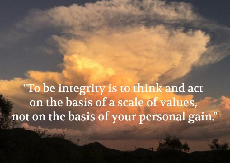 Integrity english