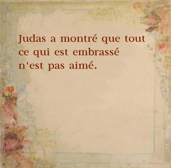Judas embrasse