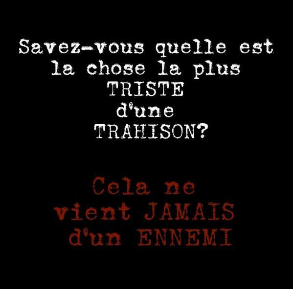 Triste francais