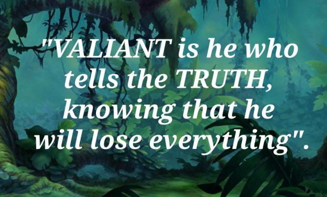 Valiant truth english